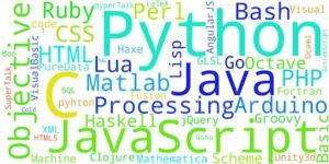 Important programming languages for computer science