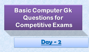 Computer gk questions day2