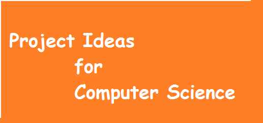 final year project ideas for computer science students